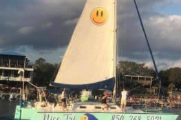 Nice Tri Charter Boat – Look For The Smiley Face